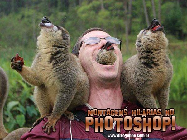 Montagens Hilárias No Photoshop!