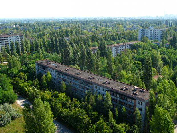 Enquanto isso, em Chernobyl…