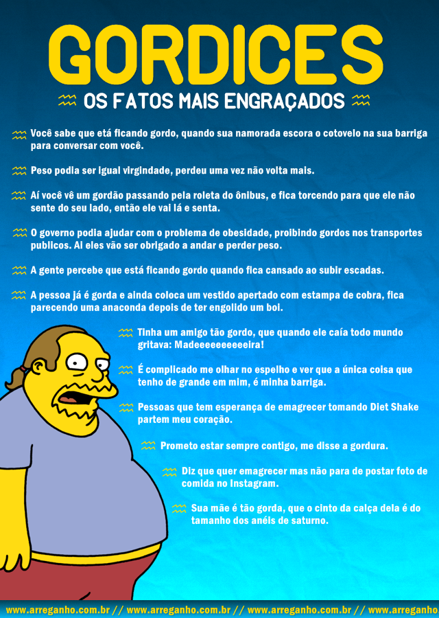 Gordices – Os fatos mais engraçados!