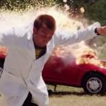 Já pensou em explodir um carro em super câmera lenta?