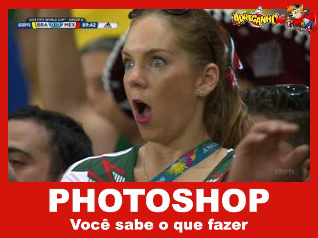 Photoshop, você sabe o que fazer - Especial Brasil X México