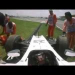 Homem é Atropelado por Carro de F1