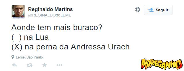 Os 9 comentários mais bizarros sobre a perna da Andressa Urach!