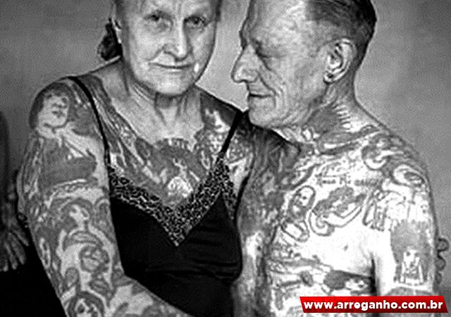 10 Fotos que provam que tatuagem não é coisa só para os jovens