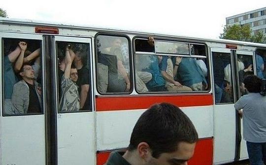 10 Imagens que provam que o transporte público não é ruim só no Brasil