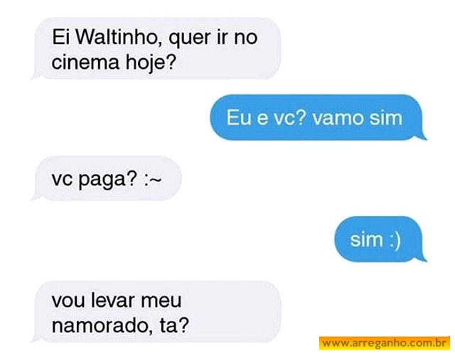 Vamos no cinema?
