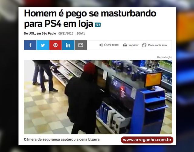 Descabelando o palhaço para um PS4?