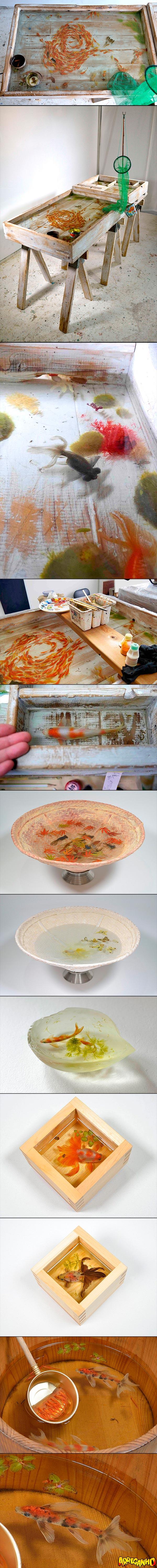 peixes-de-resina