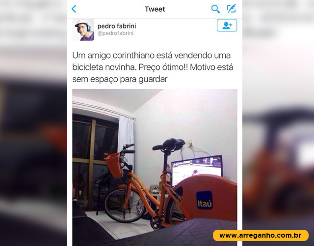 Bicicleta novinha
