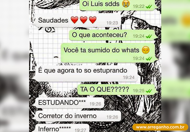 voce ta sumido do whats