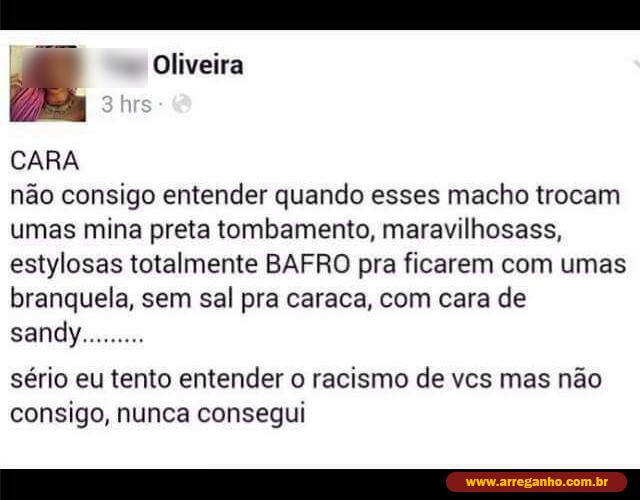 Chega de racismo
