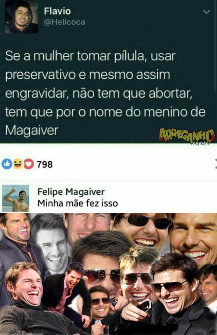 Magaiver na vida real